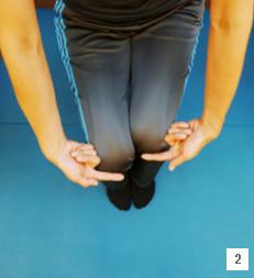 「骨盤歪みチェック 膝」の画像検索結果
